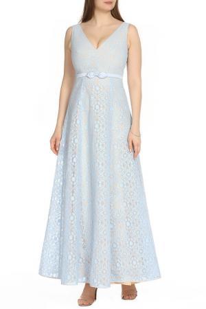 Легкое платье с пышной юбкой Isabel Garcia. Цвет: baby blue