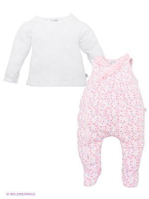 Комплект Kanz. Цвет: розовый, белый