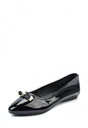 Балетки Just Couture. Цвет: черный