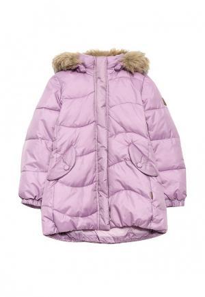 Куртка утепленная Reima. Цвет: фиолетовый