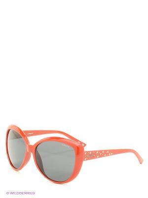 Солнцезащитные очки Polaroid. Цвет: красный, синий