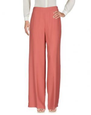 Повседневные брюки MALÌPARMI M.U.S.T.. Цвет: пастельно-розовый