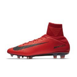 Футбольные бутсы для игры на твердом грунте  Mercurial Veloce III Dynamic Fit Nike. Цвет: красный