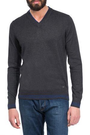 Пуловер Vincenzo Boretti. Цвет: серый