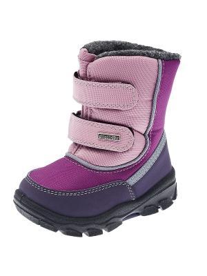 Полусапожки CHICCO. Цвет: фиолетовый