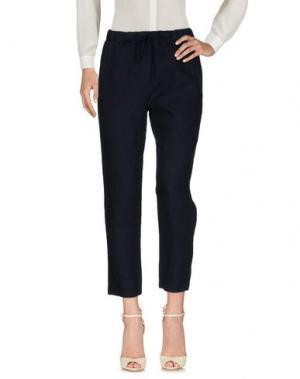 Повседневные брюки LE TRICOT PERUGIA. Цвет: темно-синий