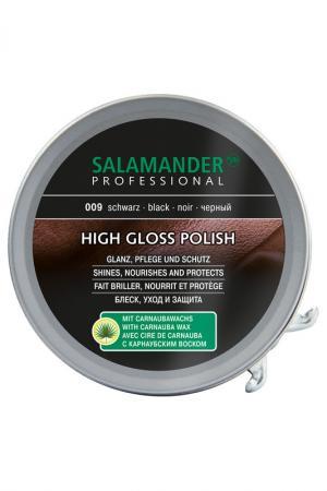 Крем для обуви Черный Salamander Professional. Цвет: черный