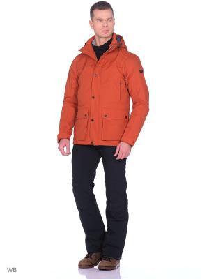 Куртка демисезонная Tenson. Цвет: рыжий