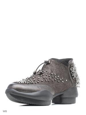 Ботинки EGGA. Цвет: коричневый