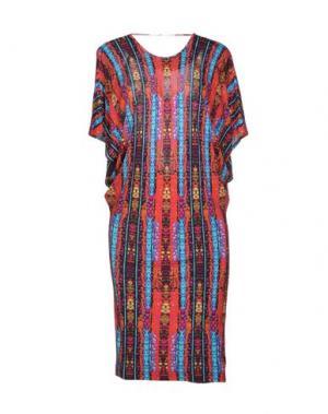 Короткое платье FELDER. Цвет: красный