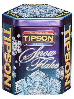 Чай Tipson СНЕЖИНКА Голубая 100г. Цвет: фиолетовый, белый, синий