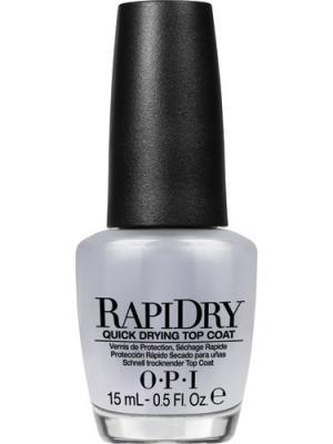 Opi Верхнее покрытие для ногтей RapiDry, быстросохнущее, 15 мл. Цвет: прозрачный