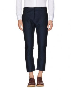 Повседневные брюки CHOICE NICOLA PELINGA. Цвет: темно-синий