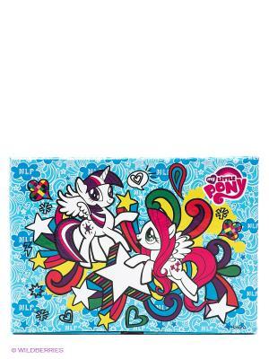 Набор для создания аксеcсуаров Яркая радуга My Little Pony Делай с мамой. Цвет: голубой, белый