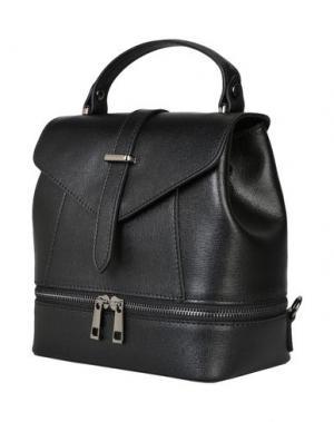 Рюкзаки и сумки на пояс PARENTESI. Цвет: черный