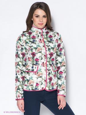 Куртка Baon. Цвет: белый, зеленый, розовый