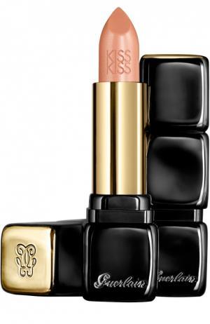 Помада для губ KissKiss, оттенок 500 Fall In Nude Guerlain. Цвет: бесцветный