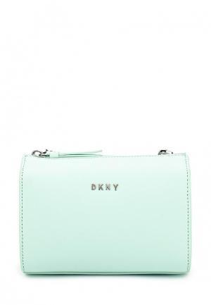 Сумка DKNY. Цвет: мятный