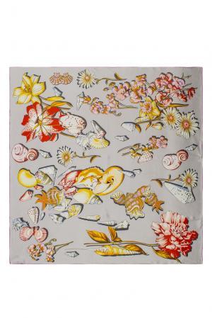 Шелковый платок 183352 Moltini. Цвет: разноцветный