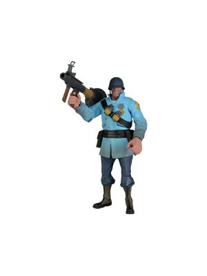 Фигурка Team Fortress 7 Series 2 - BLU Soldier Neca. Цвет: голубой