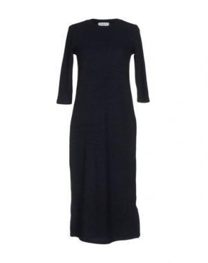 Платье до колена AXARA PARIS. Цвет: темно-синий