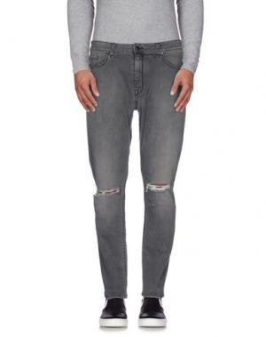Джинсовые брюки CHOICE NICOLA PELINGA. Цвет: черный