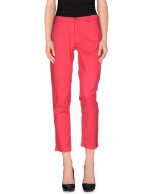 Повседневные брюки MELTIN POT. Цвет: фуксия