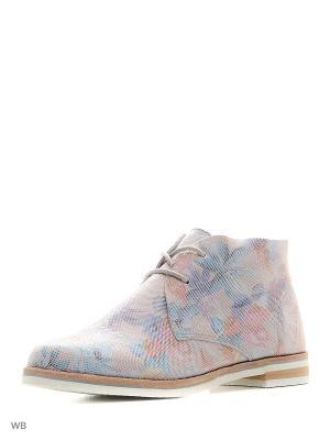 Ботинки Caprice. Цвет: сиреневый