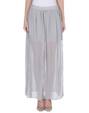 Длинная юбка MORGAN DE TOI. Цвет: серый
