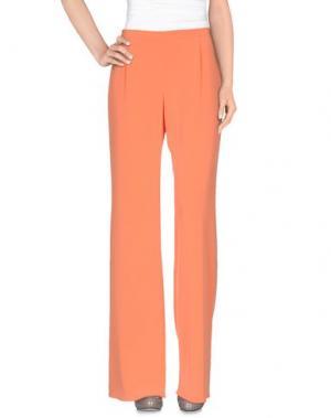 Повседневные брюки FONTANA COUTURE. Цвет: лососево-розовый