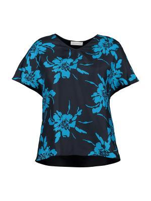 Блузка St.Emile. Цвет: темно-синий