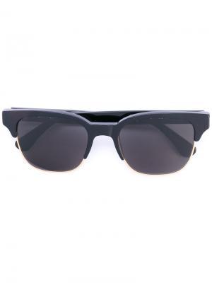 Солнцезащитные очки с квадратной оправой Retrosuperfuture. Цвет: чёрный