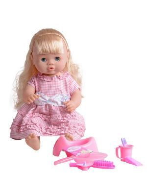 Пупс Ксюшенька Lisa Jane. Цвет: бледно-розовый, белый, розовый