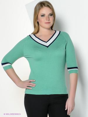 Пуловер Vis-a-vis. Цвет: зеленый