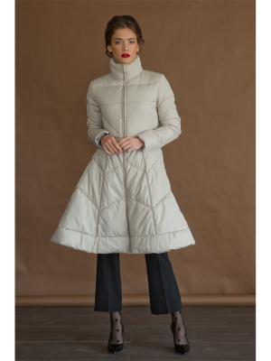 Пальто Tsurpal. Цвет: серый