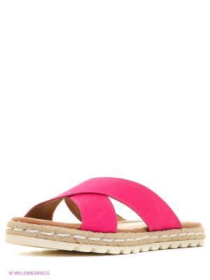 Пантолеты Marco Tozzi. Цвет: розовый