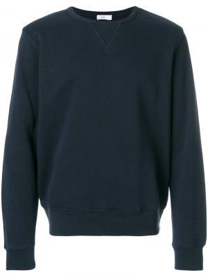 Классический трикотажный свитер Closed. Цвет: синий