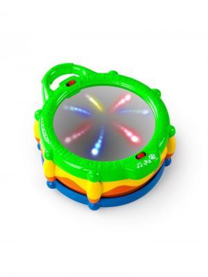 Развивающая игрушка Барабан BRIGHT STARTS. Цвет: бежевый