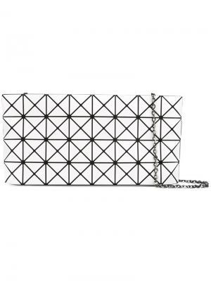 Сумка на плечо с геометрическим дизайном Bao Issey Miyake. Цвет: белый