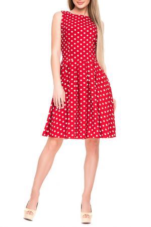Платье Magnet. Цвет: красный