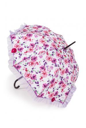 Зонт-трость с шелковым платком 117320 Guy De Jean. Цвет: разноцветный