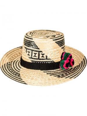 Шляпа Tayrona Yosuzi. Цвет: чёрный