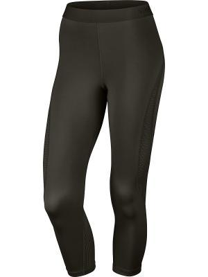 Капри W NP HPRCL CPRI Nike. Цвет: зеленый, черный