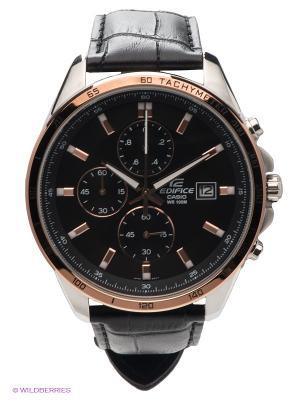 Часы EDIFICE EFR-512L-1A CASIO. Цвет: черный