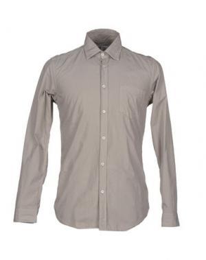 Pубашка N° 4 FOUR. Цвет: песочный