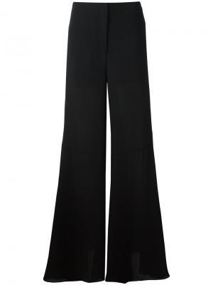 Расклешенные брюки McQ Alexander McQueen. Цвет: чёрный
