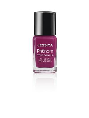 Phenom Цветное покрытие Vivid Colour Lap of Luxury № 18, 15 мл JESSICA. Цвет: лиловый