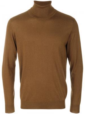 Водолазка Laneus. Цвет: коричневый