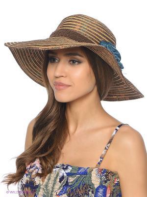 Шляпа Shapkoff. Цвет: коричневый