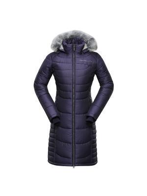 Пальто Alpine PRO. Цвет: темно-фиолетовый